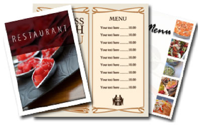 Menu-Printing-Marketing-Products